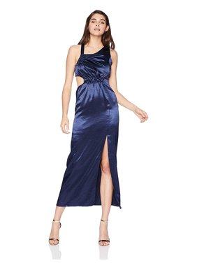 Avec Les Filles Women's Long Dress with Side Cutout (6)