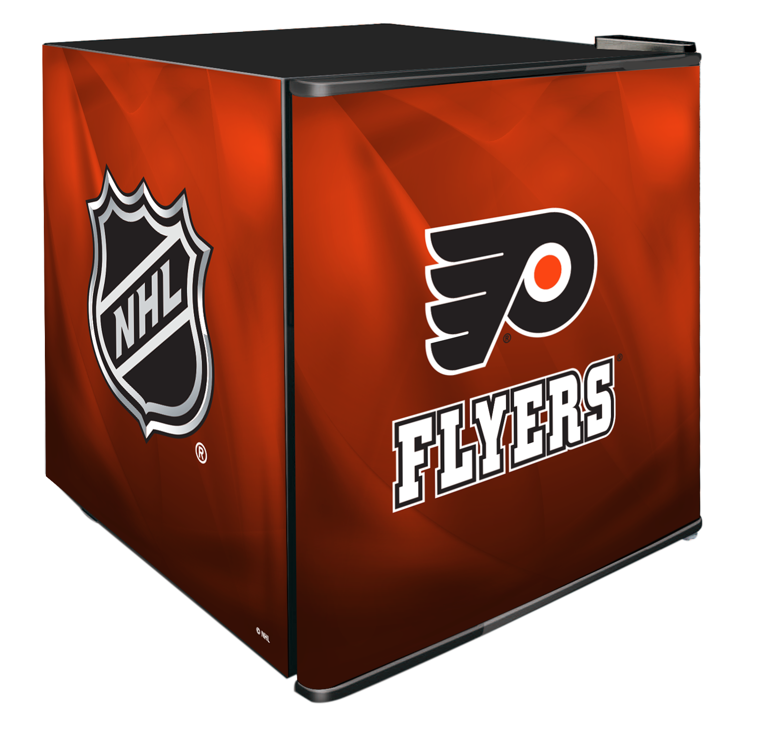 NHL Solid Door Refrigerated Beverage Center 1.8 cu ft - Philadelphia Flyers