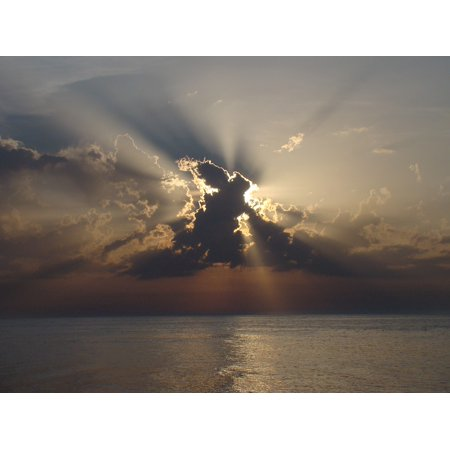 LAMINATED POSTER Clouds Eclipse View Nature The Sun Cloud Cover Poster Print 24 x 36 ()