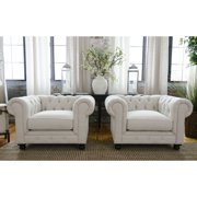 Fabric Upholstered Chair - Set of 2