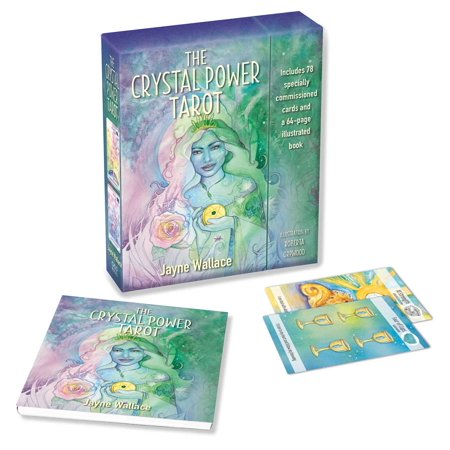 The Crystal Power Tarot : Includes a full deck of 78 specially commissioned tarot cards and a 64-page illustrated