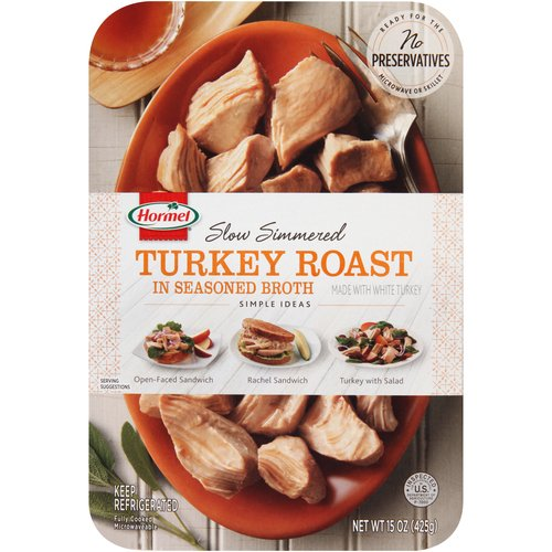 Hormel Slow Simmered Turkey Roast In Seasoned Broth, 17 oz by Hormel Foods
