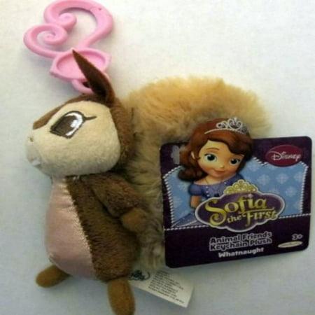 Disney Sofia the First Animal Friends Keychain Plus Whatnaught