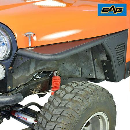 EAG Front Fender Flares - fits 76-87 Jeep Wrangler CJ7