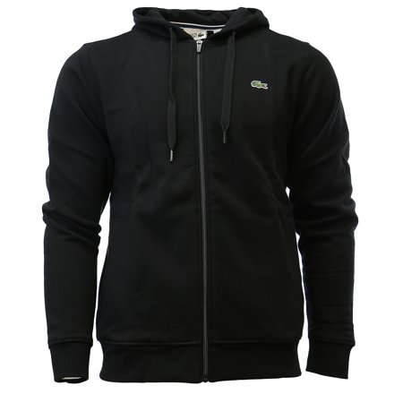 826fdbcd33d60 Lacoste - Lacoste Sport Full Zip Brushed Fleece Hooded Sweatshirt Sweat  Jacket - Mens - Walmart.com