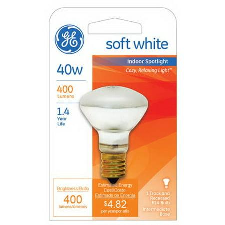 40 watt Indoor Reflector Spotlight Bulb, GE, 25777