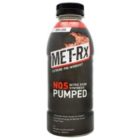 MET-Rx NOS PUMPED, Fruit Punch, 12 Bottles 16.9 Fluid Ounce