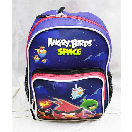 bfe56a6e3d57 Mini Backpack - Angry Birds - Space New School Bag Book Boys an12221 -  Walmart.com