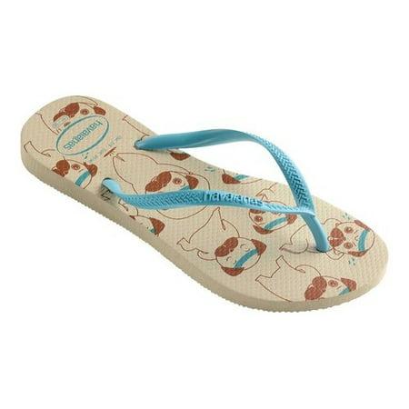 f6b0f9763871a3 Havaianas - Women s Havaianas Slim Pets Flip Flop - Walmart.com
