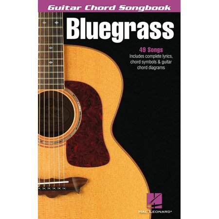 Hal Leonard Bluegrass - Guitar Chord Songbook - Walmart.com