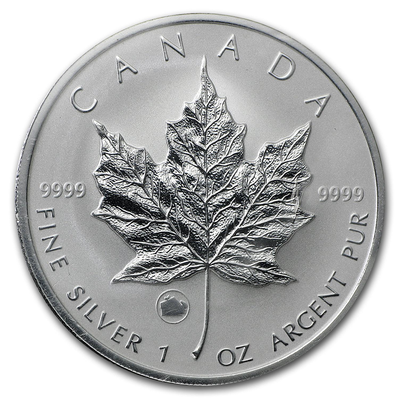 2009 Canada 1 oz Silver Maple Leaf Lunar Ox Privy