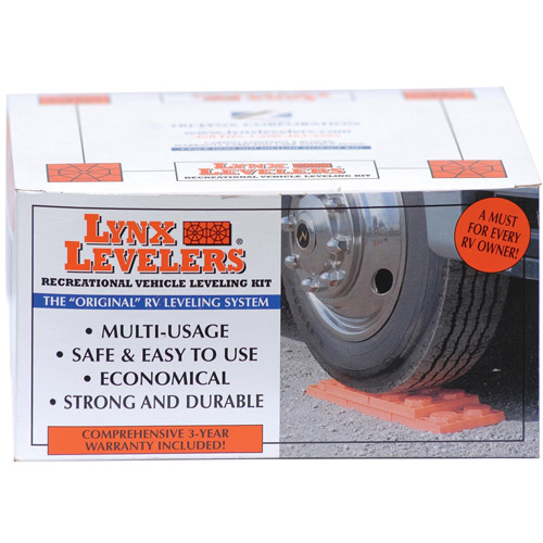 Lynx Levlers 4-Pack RV Leveling Blocks