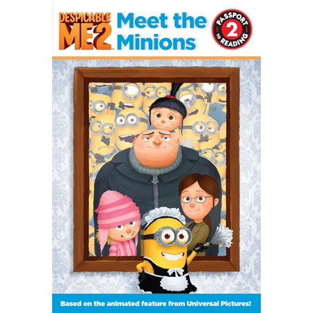 Despicable Me 2: Meet the Minions - eBook - The Names Of The Minions