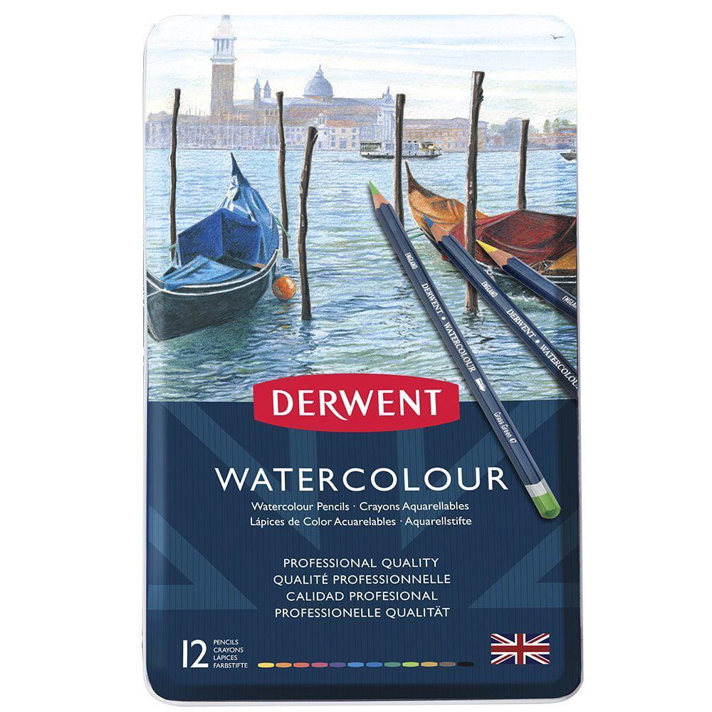Derwent - Watercolor Pencil - Set - 12-Color Set