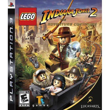 Disney Interactive Lego Indiana Jones 2 The Adventure Continues Ps3