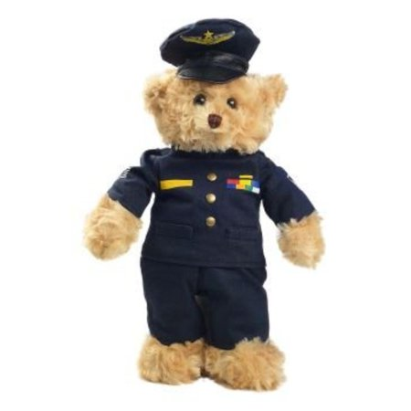 Air Bear (U.s. Air Force Plush Animal Teddy Bear In United States Blue Outfit 10 Inch)