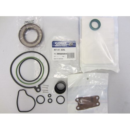 Volvo Penta/OMC Cobra New OEM Upper Gear Housing Case Unit Seal Kit (Special Housing Unit)
