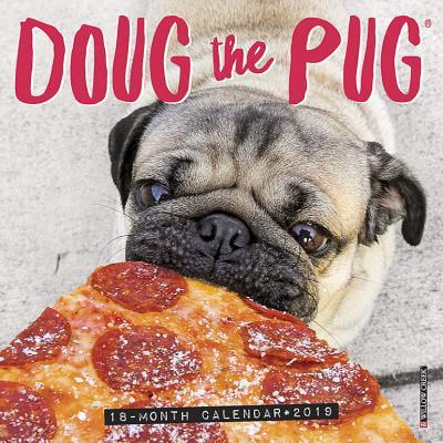 Doug the Pug Mini 2019 Wall Calendar (Dog Breed Calendar) (Other)