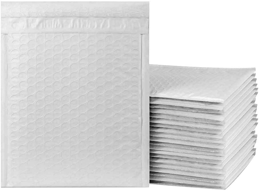 Envelope with bubbles pro padded shipping envelopes 12 sizes white
