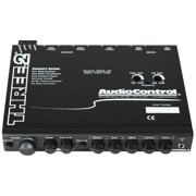 AudioControl THREE.2 THREE.2 Half-DIN In-Dash Equalizer/Crossover with Aux Inputs