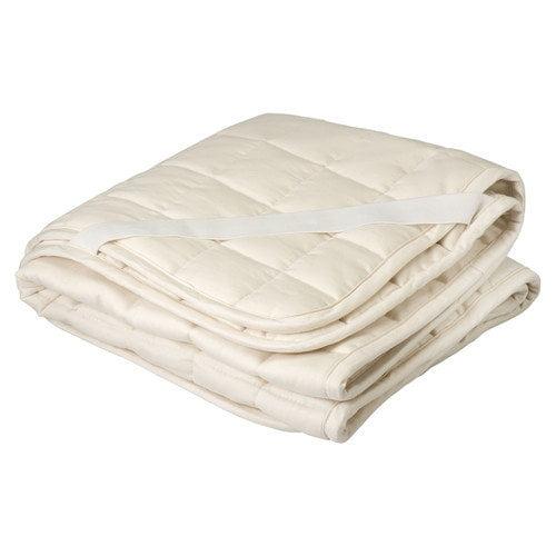 Greenbuds Organic Wool Mattress Topper Puddle Pad