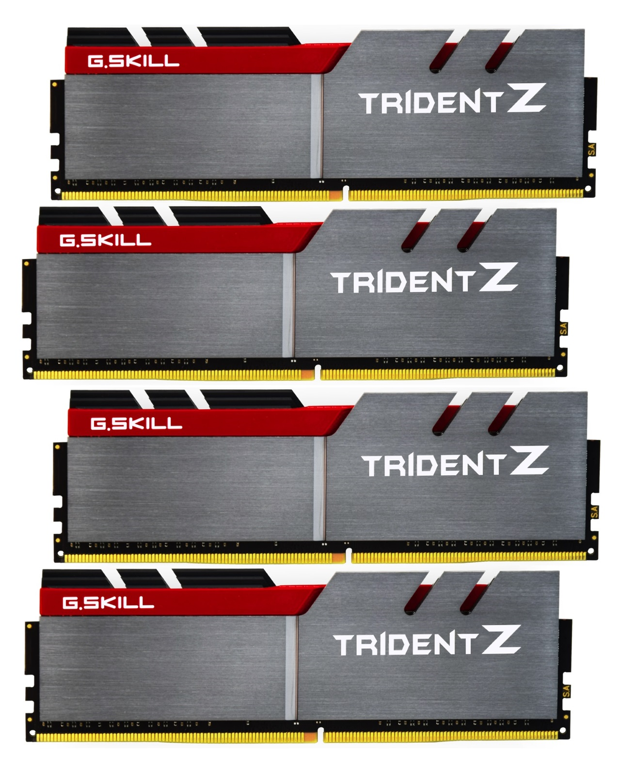 32GB G.Skill DDR4 Trident Z 4000Mhz PC4-32000 CL18 1.35V Quad Channel Kit (4x8GB) for Intel Z270