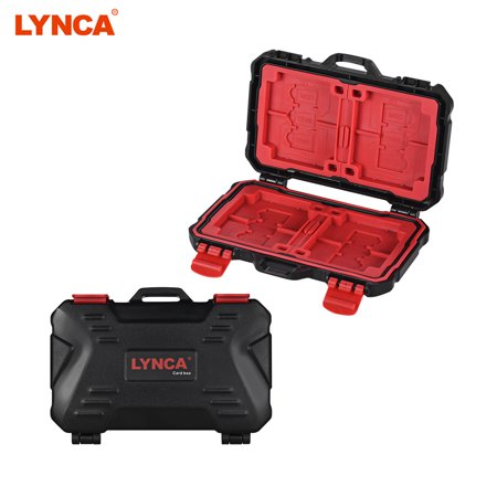 LYNCA KH 10 Water-resistant CF/SD/SDHC/TF/MSD Memory Card Case Box Keeper Carrying Holder Storage Organizer 24 Slots for Sandisk Transcend Lexar Kingston](Kingston Halloween Store)