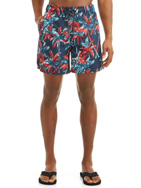 abb9ea4064532 Product Image Men's Patriot Stripes 6-Inch Swim Short, up to size 3XL