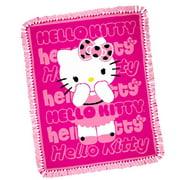 Hello Kitty Fuchsia Throw Kit, 1 Each
