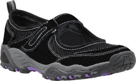 Propet Blazer Mary Jane Outdoor Women's Black Purple by
