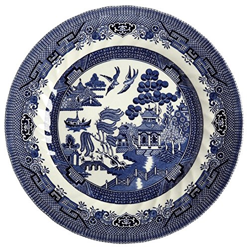 Queenu0027s Blue Willow Imperial Dinner Plate 10-Inch  sc 1 st  Walmart.com & Queenu0027s Blue Willow Imperial Dinner Plate 10-Inch - Walmart.com