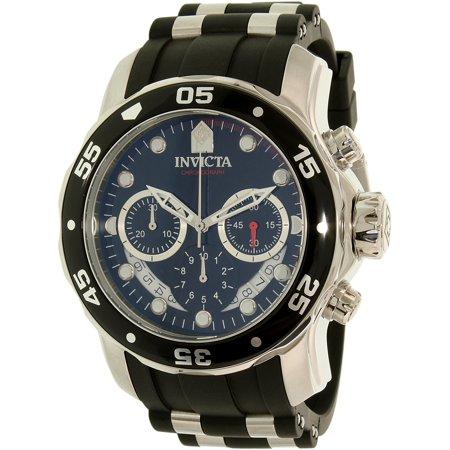 Complication Gents Watch (21927 Gent's Chronograph Black Dial Quartz Polurethane Watch )
