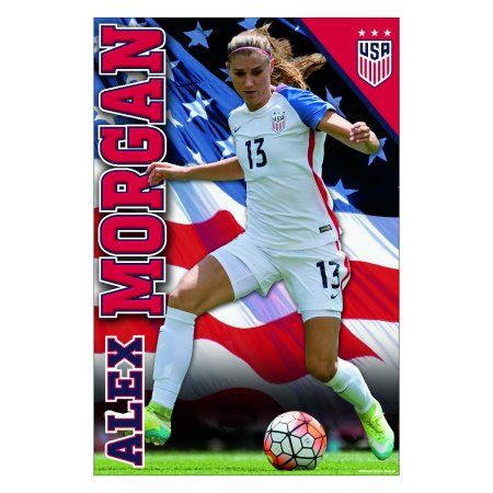Alex Morgan Poster 2017 | Official Licensed Product