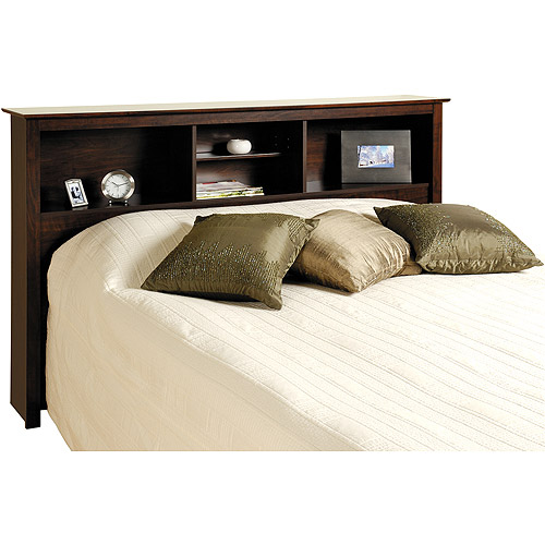 Edenvale Full Queen Storage Headboard, Espresso Prepac Furniture by Prepac
