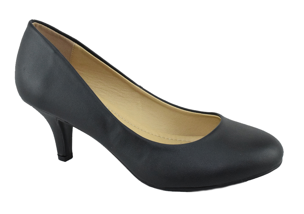 Tory Low Heel Single Sole Round toe Classic Pump Fourever Funky