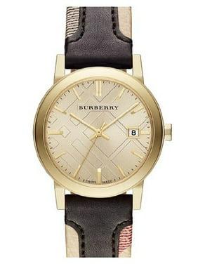 Burberry Unisex Double Leather Analog Quartz 38mm Watches