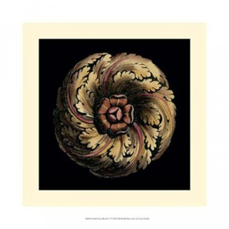Small Classic Rosette V Poster Print by Vision studio (14 x 14)