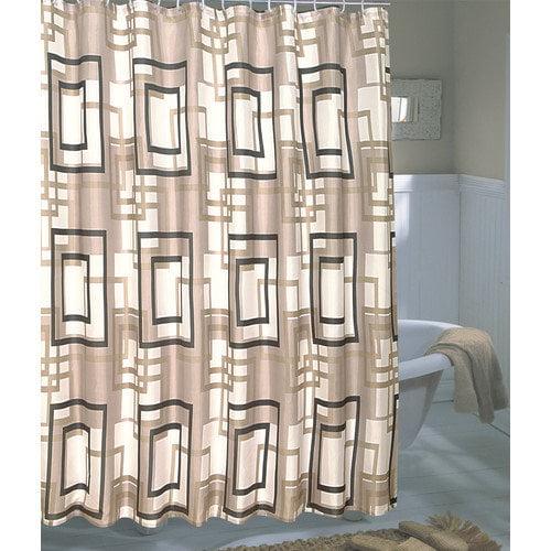 Carnation Home Fashions Lexington Shower Curtain
