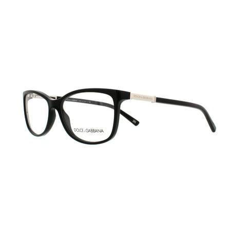 DOLCE & GABBANA Eyeglasses DG 3107 501 Black - Black Eyeglasses