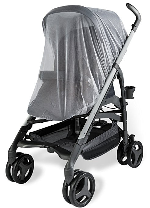 Protects Safe Mesh Large Baby Pram Stroller Pushchair Buggy Mosquito Insect Net