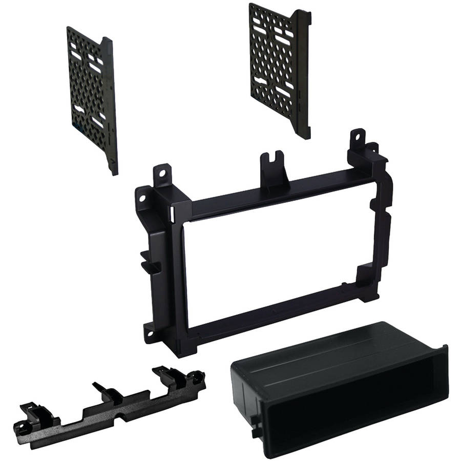 "Best Kits and Harnesses BKCDK658 Dodge Durango/Jeep/Eagle Grand Cherokee 2014-2015 with 4.3"" Screen Double-DIN/Single-DIN with Pocket Kit"