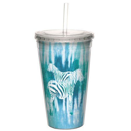 - Tree-Free Greetings Tie Dye Zebra -CC99053