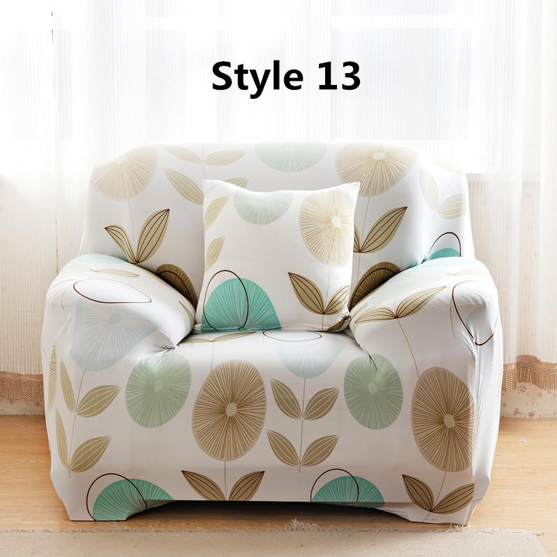 Stretch Chair Loveseat 2 Seats Sofa Cover Furniture