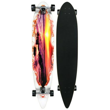 Krown City Surf Longboard Sunset 9