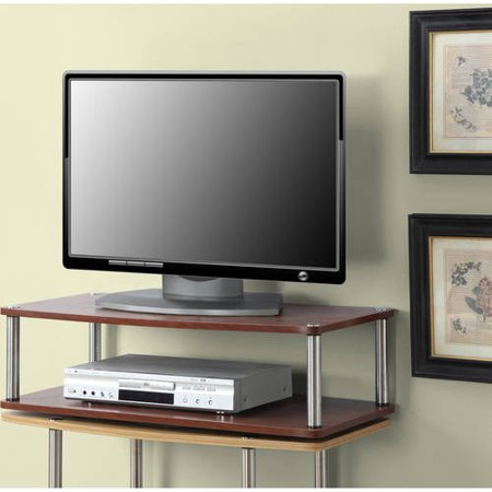 Designs 2 Go XL Double Swivel Board Black Woodgrain, for TVs
