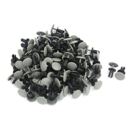 100pcs Plastic Door Trim Panel Hood Rivet Fastener Clips 8.4mm x 19.5mm x 22mm - image 1 de 1