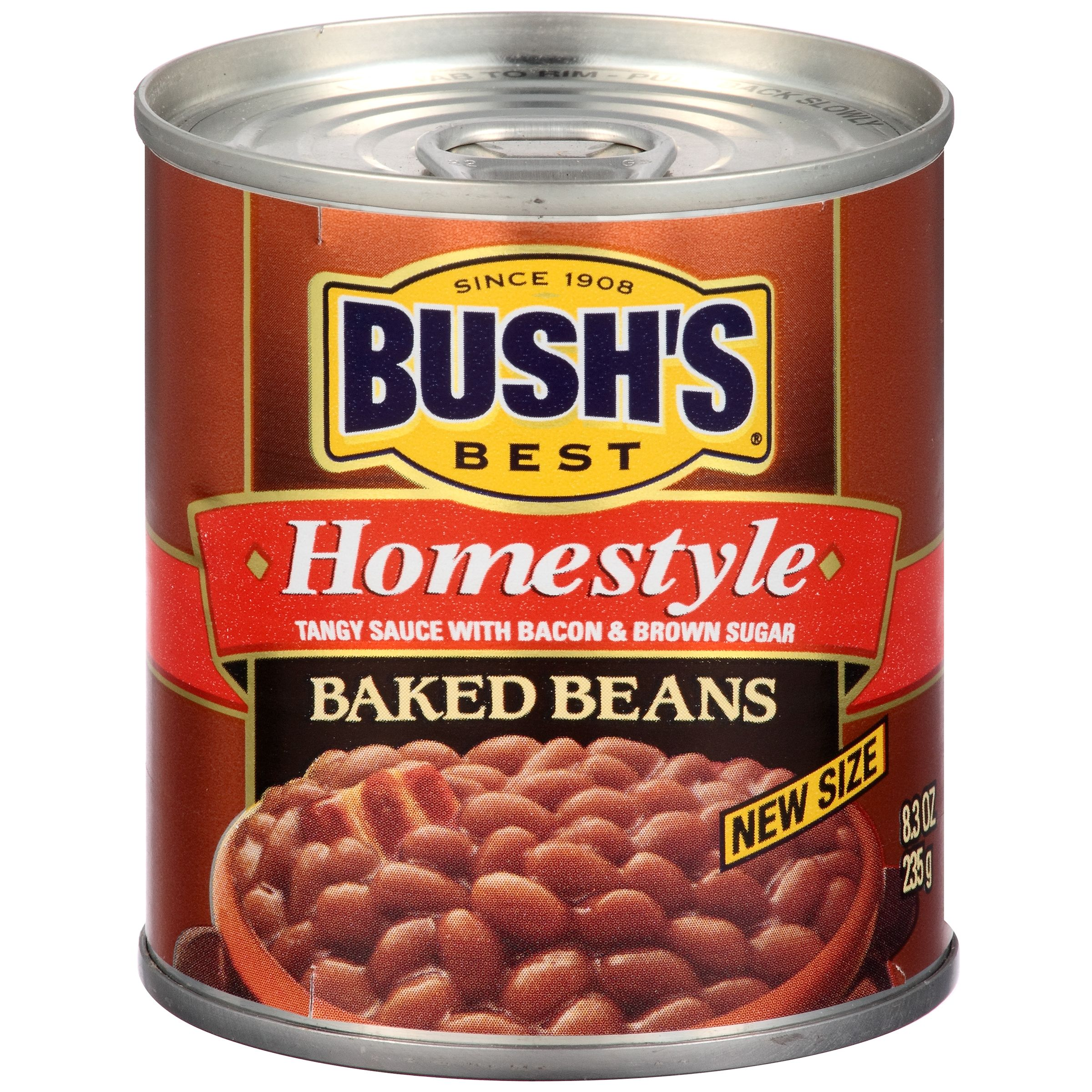 Bush's Best Homestyle Baked Beans 8.3 oz. Can by Bush Brothers & Company