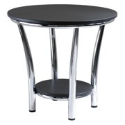 Maya Round Back End Table