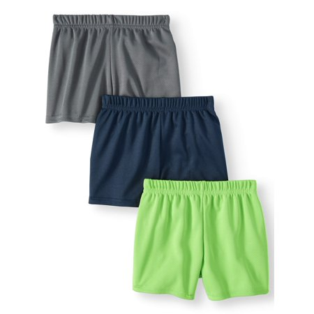 Baby Boys' Mesh Athletic Shorts, 3-Piece (Toddler Athletic Apparel)