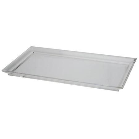 A&B Home Acrylic Westby Rectangular Tray, Medium (Acrylic Trays)